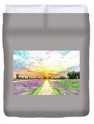 Sunset - Colors Of Nature Duvet Cover