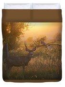 Sunset Deer Duvet Cover