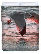 Sunset Glide Duvet Cover
