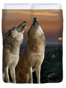 Sunset Harmony Duvet Cover