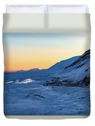Sunset In The Arctic Duvet Cover