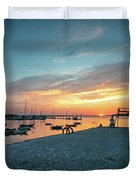 Sunset Looker Duvet Cover