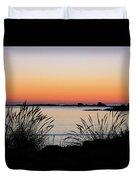 Sunset Over Sunset Bay, Oregon 6 Duvet Cover by Dawn Richards