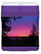 Sunset Summer Duvet Cover