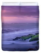 Sunset Surf On The Gulf Of Mexico, Venice, Florida Duvet Cover