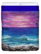 Sunset Wave Duvet Cover