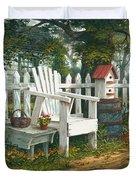 Sunshine Serenade Duvet Cover