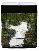 Sunwapta Falls Duvet Cover