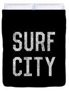 Surf City Duvet Cover