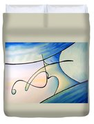 Surfs Up Duvet Cover