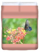 Swallowtail Butterfly Wings  Duvet Cover