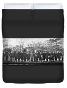 Swedish-american Line Special Party Duvet Cover