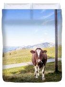 Swiss Cow Duvet Cover