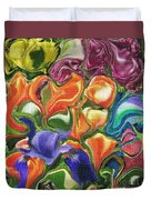 Symphony Of Color Duvet Cover