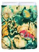 Synthetic Seas Duvet Cover