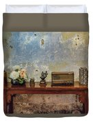 Table Of History Duvet Cover