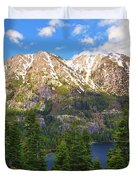 Tahoe Inspiration Point Duvet Cover