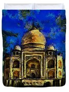 Taj Mahal Duvet Cover by Harry Warrick