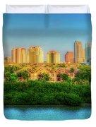 Tampa, Florida Duvet Cover