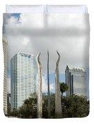 Tampa Skyline, 2007 Duvet Cover