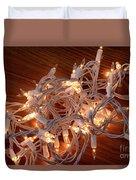 Tangled Lights Duvet Cover