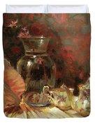 Tea By The Sea Duvet Cover by Steve Henderson