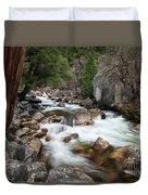 Tenaya Creek, Yosemite National Park Duvet Cover