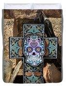 Terlingua Cross Duvet Cover