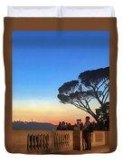 Terrazza Del Pincio Duvet Cover
