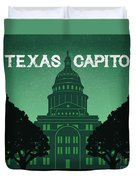 Texas Capitol Duvet Cover