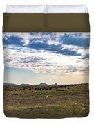 Thaba Nchu Landscape Duvet Cover
