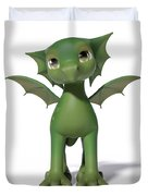 The Adorable Dragon  Duvet Cover