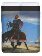 The Adventurer 1882 Duvet Cover