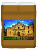 The Alamo Mission Duvet Cover