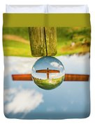 The Angel Of The North. Duvet Cover