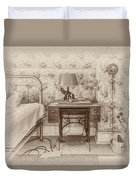 The Antique Sewing Machine Duvet Cover