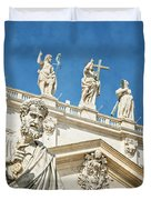 The Apostle Peter Vatican City Duvet Cover