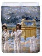 The Ark Passes Over The Jordan, 1902 Duvet Cover