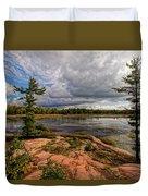 The Artistic Cranberry Bog Duvet Cover