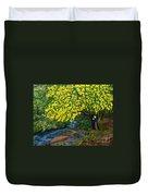 The Artistic Spirit Of Judy Doggett Walker In Blackley Forest Duvet Cover