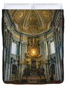 The Aspe Of St. Peter's Duvet Cover