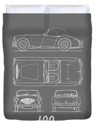 The Austin-healey 100 Duvet Cover