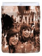 The Beatles Art  Duvet Cover