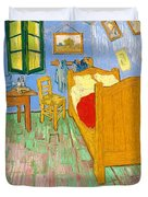 The Bedroom At Arles - Digital Remastered Edition Duvet Cover