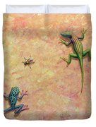 The Big Fly Duvet Cover by James W Johnson