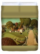 The Birthplace Of Herbert Hoover, 1931 Duvet Cover