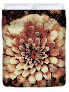 The Bloom Of Fall Duvet Cover