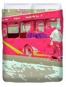 The Bus Duvet Cover