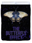 The Butterfly Effect II Duvet Cover