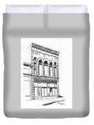 The Capital Transfer And Sands Brothers Building Helena Montana Duvet Cover